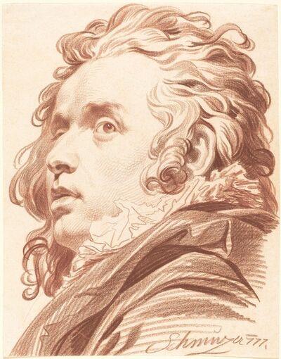 Jacob Matthias Schmutzer, 'A Young Man with Flowing Hair', 1777