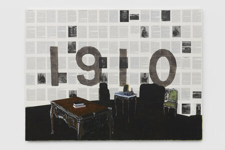 Dexter Dalwood, 'An Inadequate Painted History of Mexico IV', 2018