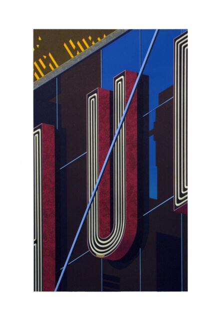 Robert Cottingham, 'An American Alphabet: U', 2012