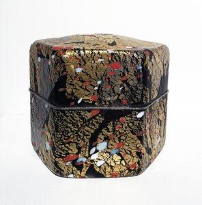 Kyohei Fujita, 'RED AND WHITE PLUM BLOSSOMS', 1995