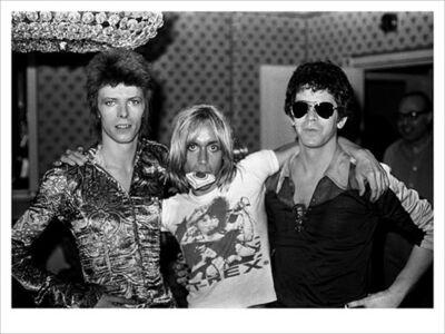 Mick Rock, 'Bowie, Iggy, Lou Reed 2', 2020