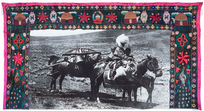 Shaarbek Amankul, 'Moving into the future (nomad with horse)', 1963-2020