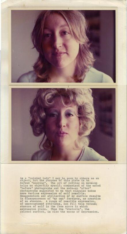 Martha Wilson, 'Painted Lady', 1972-1973