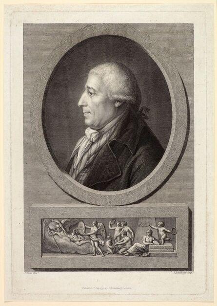 Jacques Bouillard, 'Portrait of the Engraver Francesco Bartolozzi', 1797