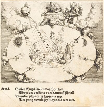 Augustin Hirschvogel, 'The Opening of the Seventh Seal', 1549