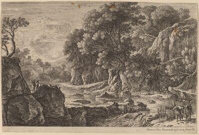 Herman van Swanevelt, 'The Fishermen'