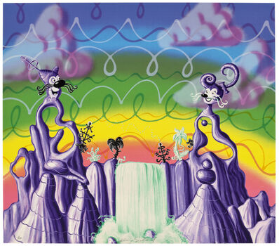 Kenny Scharf, 'Aqua Pollination', 1988