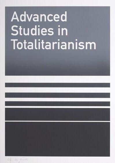 Heman Chong, 'Advanced Studies in Totalitarianism', 2006