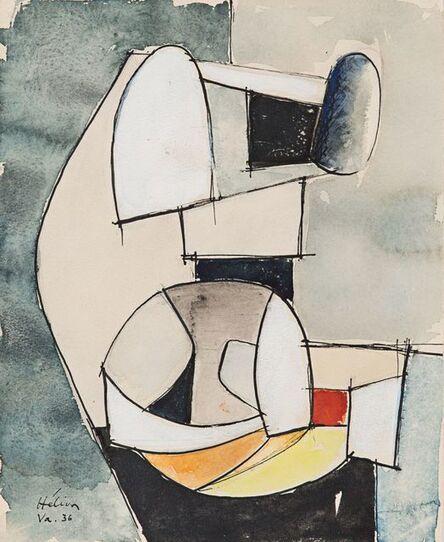 Jean Hélion, 'Composition abstraite', 1936