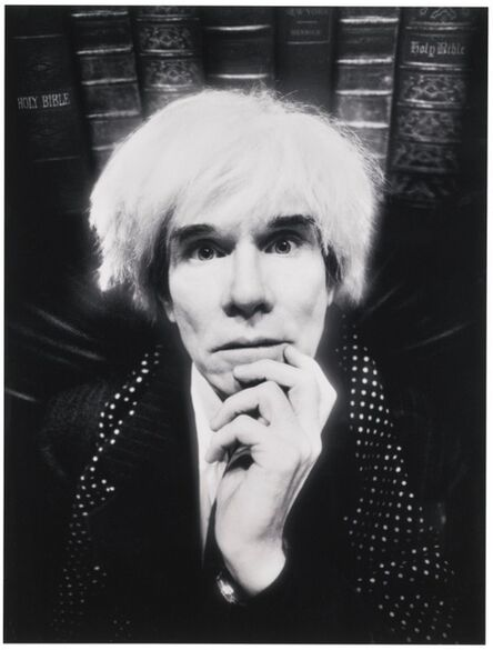 David LaChapelle, 'Andy Warhol: Last Sitting, November 22th, 1986', 1986