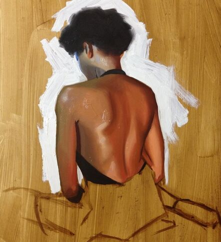 Jas Knight, 'Study for Woman's Back Homage', 2014