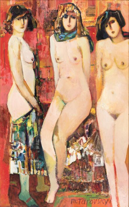 Mikhail Turovsky, 'Three Graces (Stolen Muses)', ca. 1997