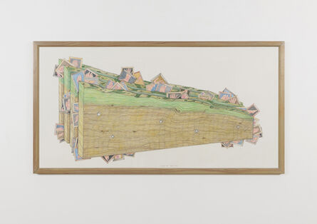 Ger van Elk, 'Pressure Sandwich [study]', 1990