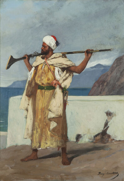 Jean-Joseph Benjamin-Constant, 'The Watchful Guard', circa