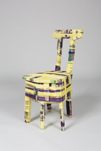 Anton Alvarez, 'The Thread Wrapping Machine Chair 090415', 2015