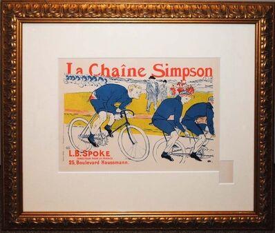 Henri de Toulouse-Lautrec, 'La Chaine Simpson', 1900