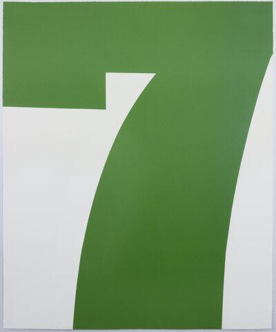 Matt Magee, 'Green Seven', 2016
