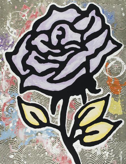 Donald Baechler, 'Violet Rose (Six Roses)', 2015
