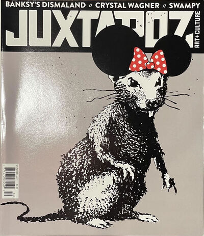 Banksy, 'Banksy Juxtapose Magazine DIsmaland 2015 Original Copy Cyrstal Wagner Interview 2015 Urban Art ', 2015