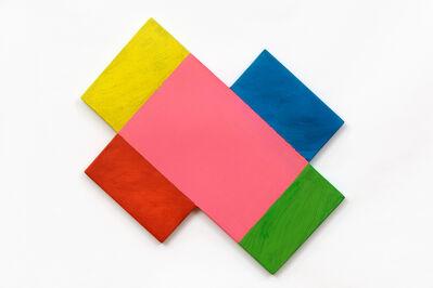 Mary Heilmann, 'Geometric Spin', 2021