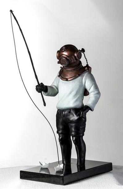Sônia Menna Barreto, 'Diver'