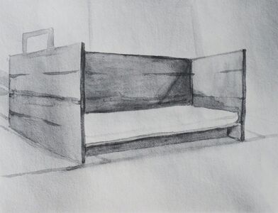 Marie Shannon, 'Arena Daybed I', 2001-2002