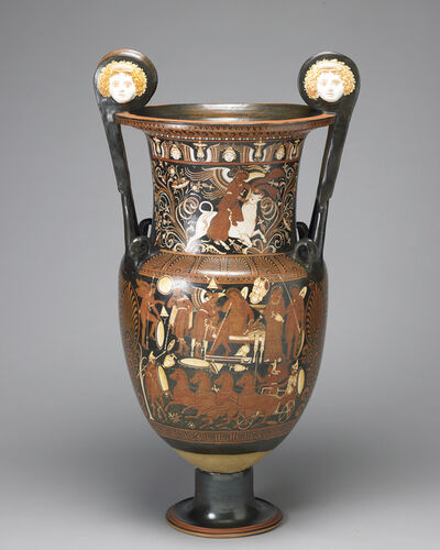 Various Artists, 'Red-figure volute krater, Southern Italian, Apulia', ca. 330–320 BC