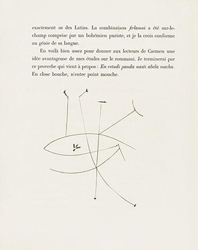 Pablo Picasso, 'The Eye (Plate XXXVIII)', 1949