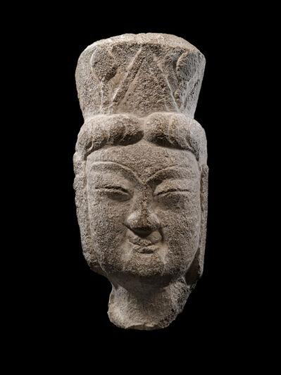 'Head of a Bodhisattva', 386-534
