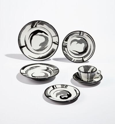 Roy Lichtenstein, 'Dinnerware (six pieces)', 1966