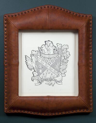 Marina Zurkow, 'Heraldic Crests for Invasive Species: North American Gray Squirrel', 2011