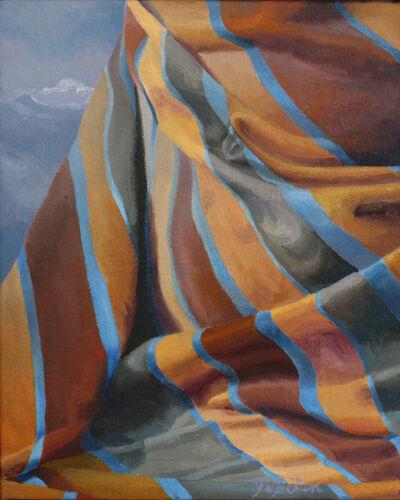 Joan Lesikin, 'Ochre Hills', 1980