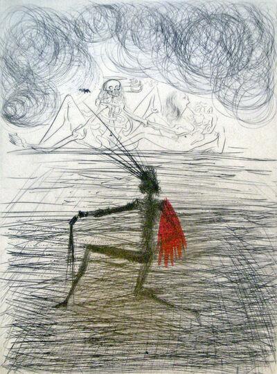 Salvador Dalí, 'Kneeling Knight', 1969