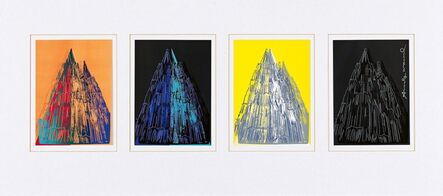 Andy Warhol, 'Cologne Cathedral (Cards)', 1985