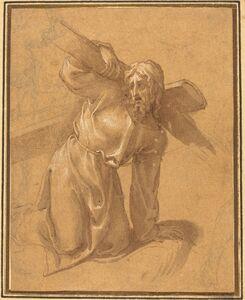 Francesco Salviati, 'Christ Falling under the Cross'