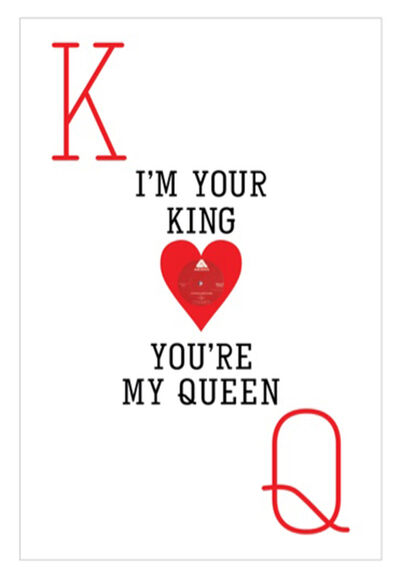 Keith Haynes, 'I'm Your King, You're My Queen', 2020