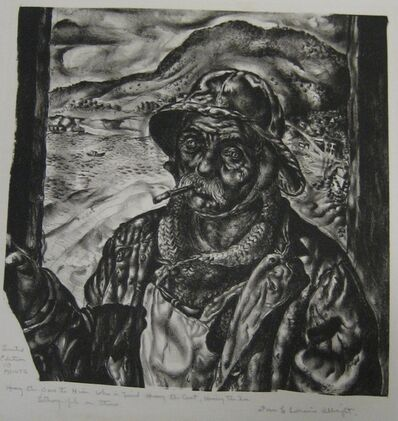 Ivan Le Lorraine Albright, 'Heavy the Oar to Him Who is Tired, Heavy the Coat, Heavy the Sea', 1939