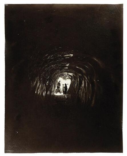 Adolphe Braun, 'Grindelwald, le glacier supérieur, la Grotte, 1882', 1882