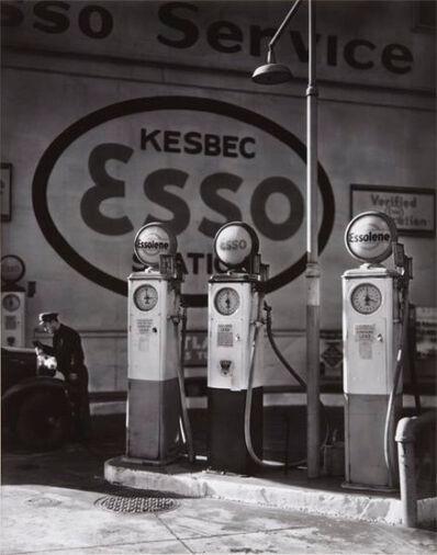 Berenice Abbott, 'Esso Station NY ', 1938