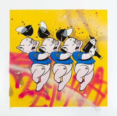 OG Slick, '3 lil pigs (yellow)'