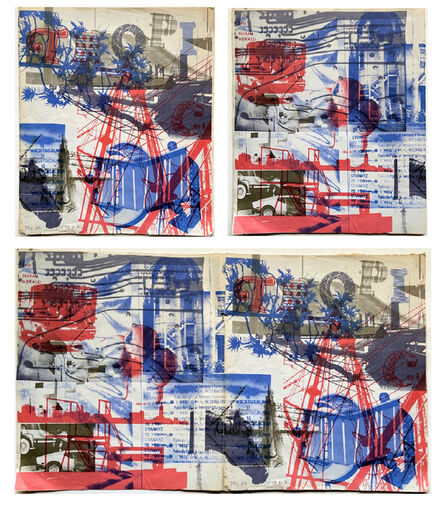 """Robert Rauschenberg, '""""Piece for Tropic"""", 1979, Color Photo Offset Lithograph, Unsigned Edition of 650,000', 1979"""
