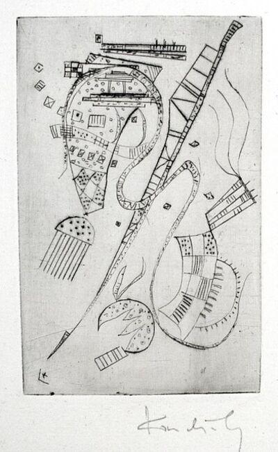 "Wassily Kandinsky, 'Etching for Stephen Spender ""Fraternity""', 1939"