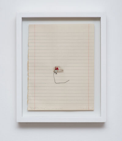 Liliana Porter, 'To Hold The String (Man with Red Sweater)', 2017