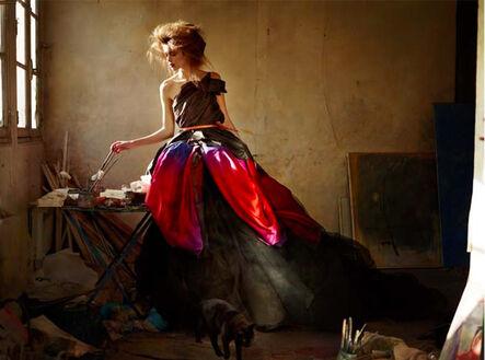 Simon Procter, 'ROLANDE. Death of a painter. Cat.', 2010