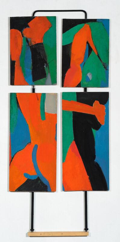 Irving Kriesberg, 'Blue, Green, Red ', 1959
