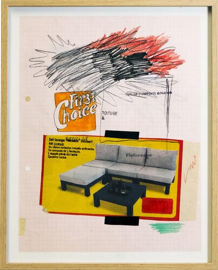 Arthur Cordier, 'LOUNGESET NICE', 2020