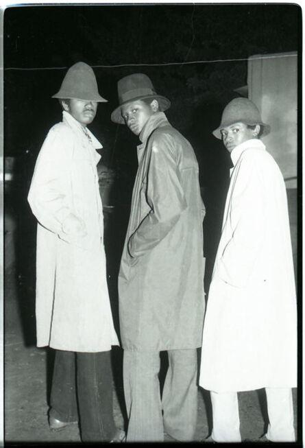 Malick Sidibé, 'Les trois agents du FBI', 1976
