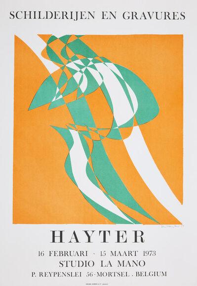 Stanley William Hayter, 'Schilderijen en Gravures [Black & Moorhead 363]', 1973