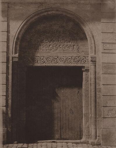 Pierre Emile Joseph Pécarrère, 'Porte de Préfecture a Cathédrale de Bourges', 1851