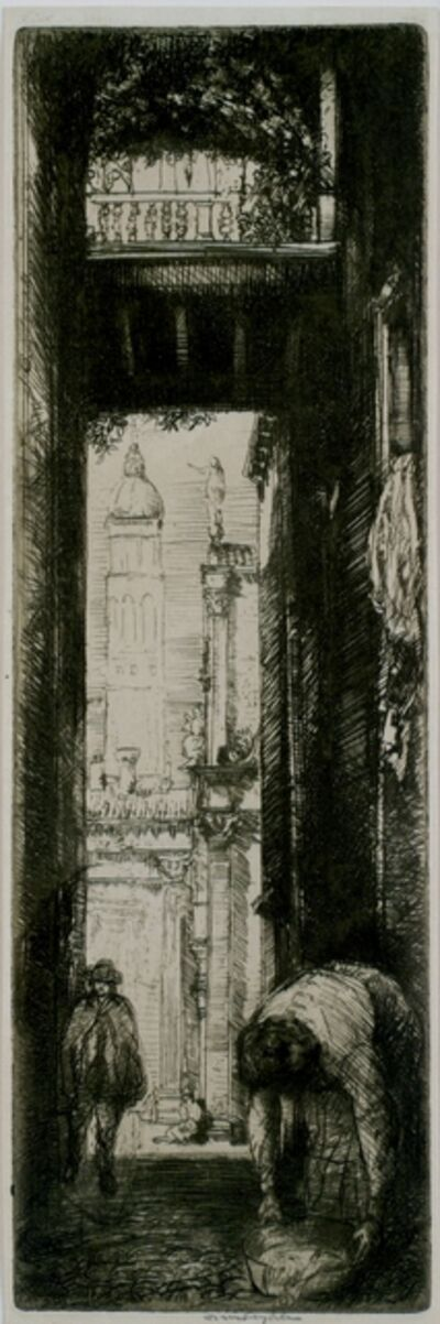 Donald Shaw MacLaughlan, 'Santa Maria Formosa, Venice', 1909